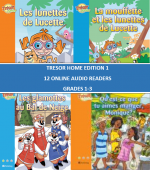 Trésor Home Edition 1 Online Audio Readers